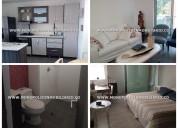 apartamento amoblado en renta - cod:14123