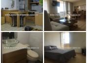 Apartamento amoblado en renta el poblado cod:14121