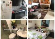 Apartamento amoblado en alquiler -cod:14117