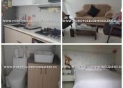Apartamento amoblado en renta - bello cod:14115