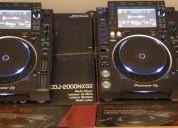 2x pioneer cdj-2000nxs2 y djm-2000nxs2 mezcl