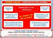 Internet satelital rural para colombia,