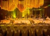 Ambientación de bodas en cartagena