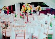 sillas rimax y tiffany para tus eventos