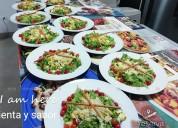 Menu buffet para eventos empresariales