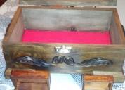 Vendo cofres en madera