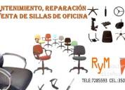 Desmanche, limpieza y mantenimiento de sillas de o