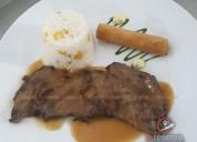 Almuerzos y cenas para eventos empresariales