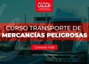 Curso transporte de mercancías peligrosas