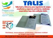 Tally books y libretas para ingeneros de campos p