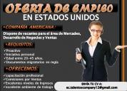 OFERTA DE EMPLEO!!! NO TE PIERDAS ESTA OPORTUNIDAD