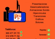 Se hacen trabajos de excel word power point acces wa 3004719172