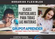 Clases particulares, profesores a domicilio