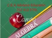 clases de Álgebra a domicilio bucaramanga