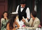 Recepcionista, camareros, personal de cocina neces