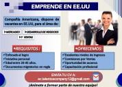 Oferta de empleo  para hispanos en eeuu
