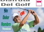 Disfruta el golf sin dolores articulares colombia