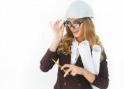 Mujeres p'a oficios varios oficina planeando apren