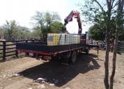 Alquiler de camión grúa articulada para colombia