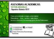 clases particulares de física, química y matemátic