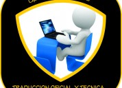 Traductores oficiales  tÉcnicos medellin ..5808030