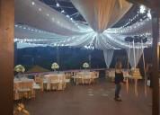 Excelentes decoraciones para eventos sociales
