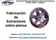 Extractores industriales y  extractores económicos