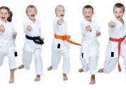 Karate, deporte olÌmpico, para niÑos, acacÌas