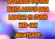 Studio de cam-girl webcam