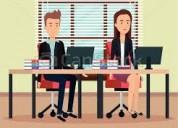 Trabajo para auxiliares de oficina sin limite de e