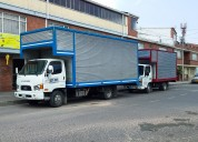 Transportes y mudanzas seguras , confiables