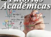 Asesoría académica universitaria