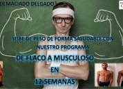Subir de peso y masa muscular