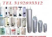 Calentadores en acero inoxidable tel 3174150938