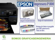 Impresoras epson sure color p 800