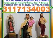 ⭐ imagenes religiosas en yeso, resina, fibra de vi