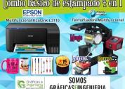 Impresora epson l3110 y termofijadora 4en1