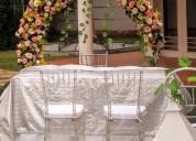 alquiler de aro para bodas,portales,tapetes