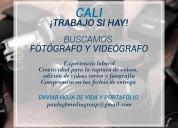 Buscamos fotÓgrafos y videografos