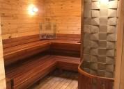 Saunas en madera teka y pino patula