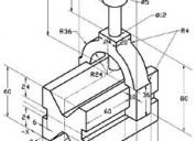 Servicios de dibujo lineal y dibujo tÉcnico, en au
