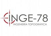TopografÍa en bucaramanga - inge-78 s.a.s - ingeni