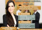 Trabajo para hispanos en los eeuu ( las vegas)