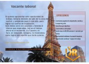 Vacante gerencial disponible