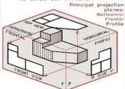 Profesor de dibujo lineal, dibujo  tÉcnico manual,