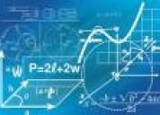 Algebra,tareas,trabajos y asesoria virtual