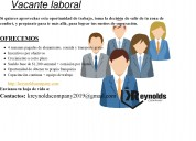 Aviso importante! vacante laboral disponible