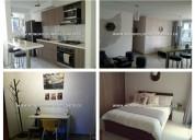 Apartamento amoblado para alquilar en bello sector