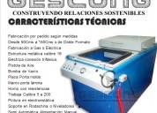 Termoformadora de 50x70cms