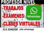 Ayudas rapidas en parciales y trabajos x whatsapp